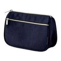 Túi đựng mỹ phẩm UPPTÄCKA, dark blue - IKEA