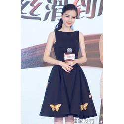 Đầm Xòe Xếp Ly Kết Bướm Xinh Như Angela Baby
