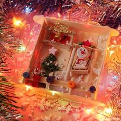 Tranh treo trang trí Giáng sinh - Quà tặng Noel độc đáo