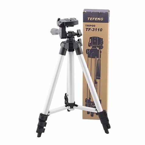 Chân máy ảnh tripod - T3110 tặng 1 giá đỡ điện thoại 3