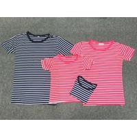 Combo 4 áo thun gia đình xanh đen hồng - GĐ 645