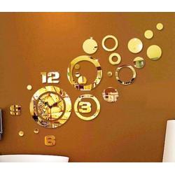 Đồng hồ dán tường Acrylic cao cấp mẫu mới 2015
