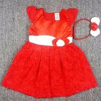 Đầm công chúa đỏ BH371