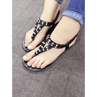 Giày sandals xỏ ngón đính đá SDXN32