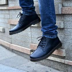Giày da cao cổ lửng trẻ trung, năng động