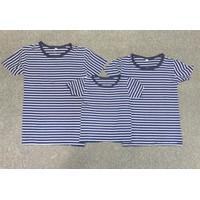 Combo 3 áo thun gia đình sọc xanh đen - GĐ 645