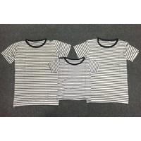 Combo 3 áo thun gia đình trắng sọc đen - GĐ 645