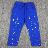 Quần kaki lưng thun xanh dương CX179