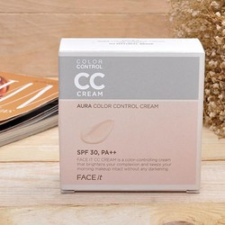 PHẤN NƯỚC CC CREAM FACE IT AURA COLOR CONTROL CREAM THE FACE SHOP