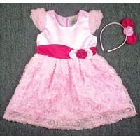 Đầm công chúa hồng BH370