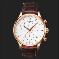 Đồng hồ Tissot 6 kim dây da cao cấp