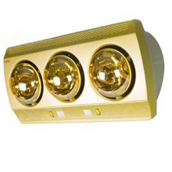 Đèn sưởi nhà tắm Kohn KN03G 3 bóng vàng