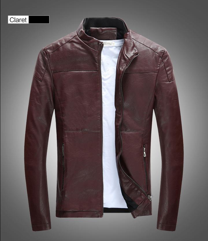 Áo da thời trang cao cấp AKD895 12