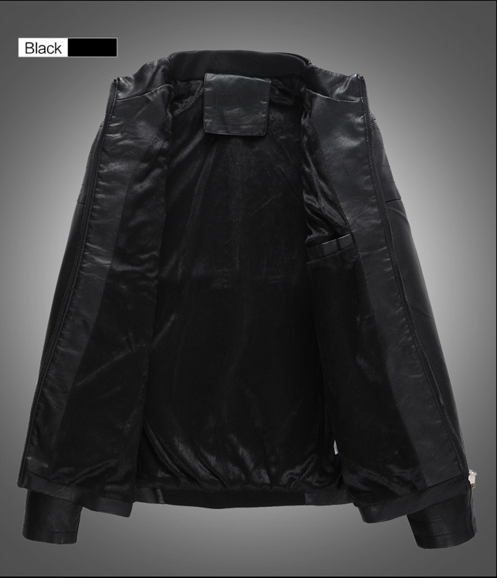 Áo da thời trang cao cấp AKD895 10