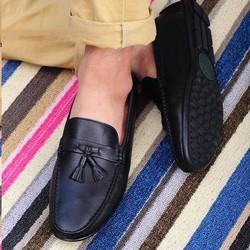 Giày da lười công sở phong cách Hàn Quốc