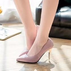 Giày cao gót, gót kim loại thời trang - G021