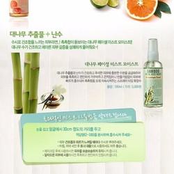Xịt khoáng Bamboo facial mist moisture 100ml