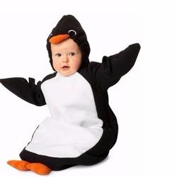 -Túi ngủ nỉ bông  con chim cánh cụt