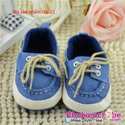 Giày cho bé trai 0 - 18 tháng