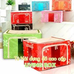 TỦ VẢI ĐỰNG ĐỒ ĐA NĂNG LIVING BOX - TQ069