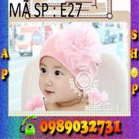 Nón len Hàn Quốc cho bé yêu - E27