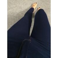 Quần Legging Giả Jeans Có Kéo Khóa - Nyn House Shop