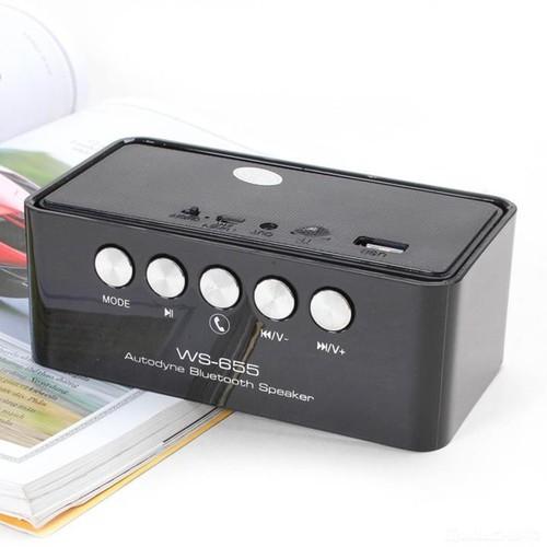 Loa Bluetooth WS 655 Mới - 3874659 , 2540188 , 15_2540188 , 218000 , Loa-Bluetooth-WS-655-Moi-15_2540188 , sendo.vn , Loa Bluetooth WS 655 Mới