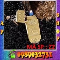 hộp quẹt ZIPPO cao cấp dát vàng 9999 - Z2