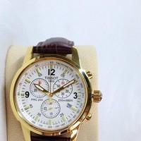 Đồng hồ Tissot dây da nam giá rẻ TpHCM T17FGN