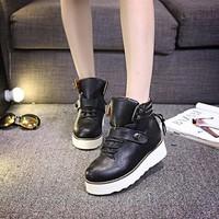 Giày thể thao nữ dây buộc có khóa Hàn Quốc - BM213D - Doni86.com