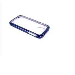 Ốp lưng Samsung Clear Cover Galaxy S4  - Xanh tím than