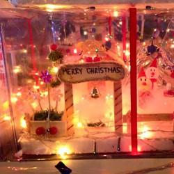 Hang đá  tặng kèm dây đèn led, và hộp quà