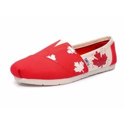 GIÀY TOMS HỌA TIẾT CỜ CANADA