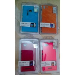 ỐP LƯNG LEATHER CASE Lenovo A850