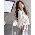 Áo len lưới thời trang