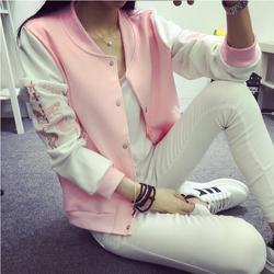 Áo khoác bóng chày thời trang Hàn Quốc thun dày