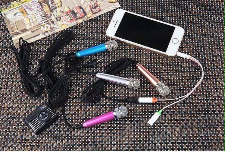 Micro mini hát karaoke trên điện thoại 2