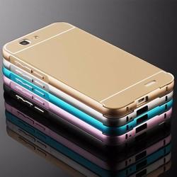Huawei Ascend G7 - Ốp lưng kết hợp viền kim loại và nắp nhựa Acrylic