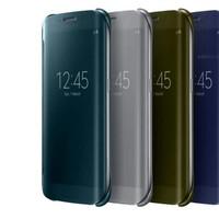 Bao da Clear View Samsung Galaxy S6 Edge Chính hãng