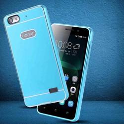 Huawei Honor 4C - Ốp viền kim loại kết hợp Acrylic cho điện thoại