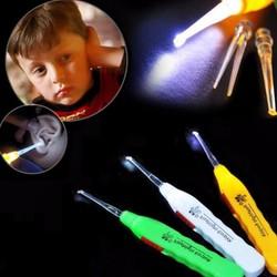 Com bo 2 bộ dụng cụ lấy ráy tai cho đèn cho bé