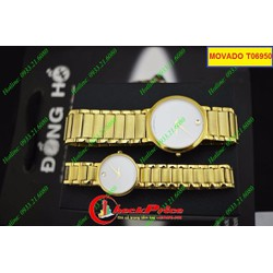 Đồng hồ đôi MV T06950 nhẹ nhàng và hợp thời trang