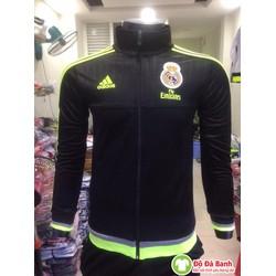 Áo khoác clb Real Madrid đen