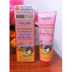 Kem trắng da và chống nắng Cathy Doll Whitening Sunscreen