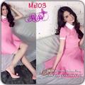 Đầm xòe màu hồng cực CUTE