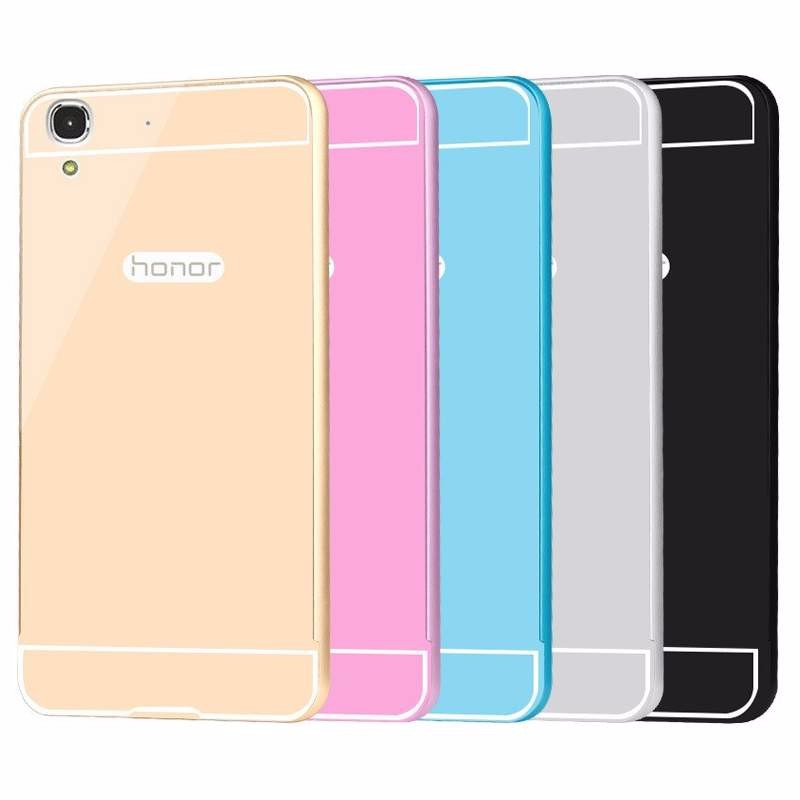 Huawei Ascend G7 - Ốp lưng kết hợp viền kim loại và nắp nhựa Acrylic 1