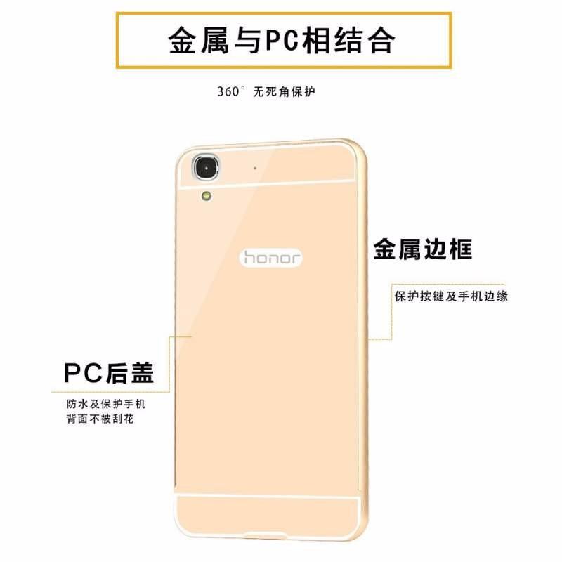 Huawei Ascend G7 - Ốp lưng kết hợp viền kim loại và nắp nhựa Acrylic 4