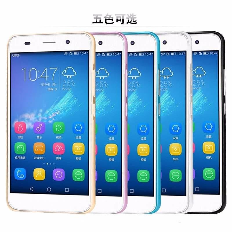 Huawei Ascend G7 - Ốp lưng kết hợp viền kim loại và nắp nhựa Acrylic 5