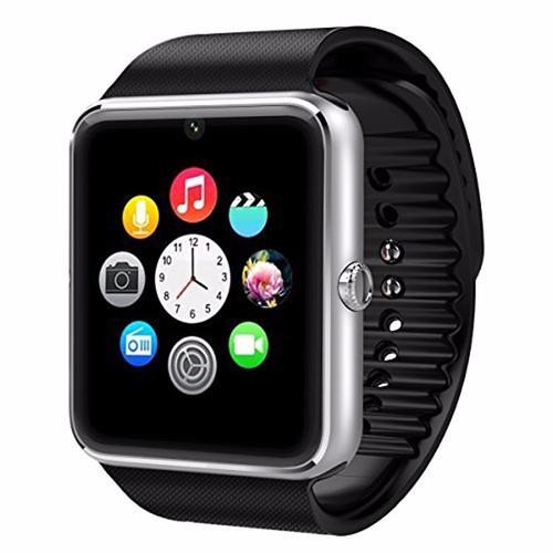 Đồng hồ thông minh Smart watch GT08 Đen viền bạc - 3875554 , 2557253 , 15_2557253 , 263000 , Dong-ho-thong-minh-Smart-watch-GT08-Den-vien-bac-15_2557253 , sendo.vn , Đồng hồ thông minh Smart watch GT08 Đen viền bạc