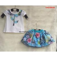 Bộ váy hoa cho bé yêu từ 1 - 8 Tuổi